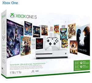 Xbox One S + 3-mce game pass + 3-mce live gold. Amazon.fr
