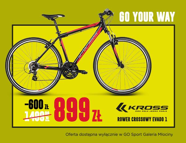 Otwarcie Go Sport Młociny Warszawa - rower Kross za 809zł ponad 700 produktów