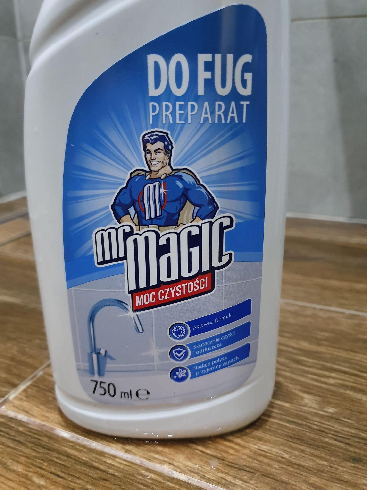 Mr magic płyn do fug biedronka