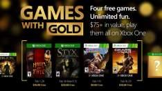 Darmowe Gry dla posiadaczy Xbox Live Gold na luty