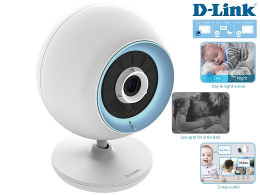 Niania elektroniczna D-Link DCS-820L EyeOn Baby Junior Plus