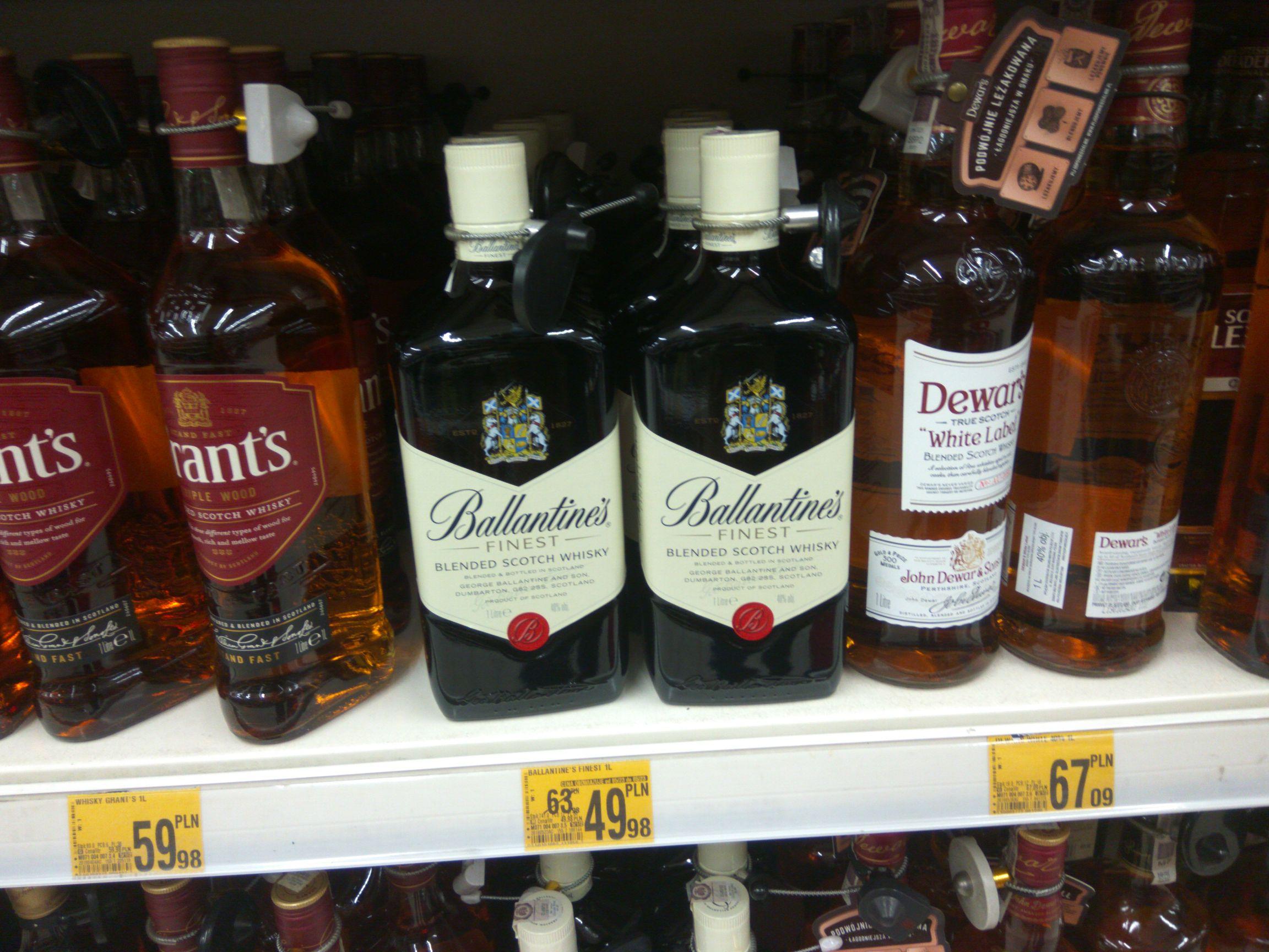 Whisky Ballantines Finest 1L - Auchan