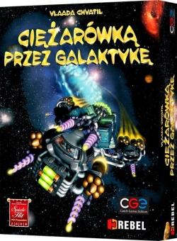 Ciężarówką przez Galaktykę - gra planszowa na booksfera.pl