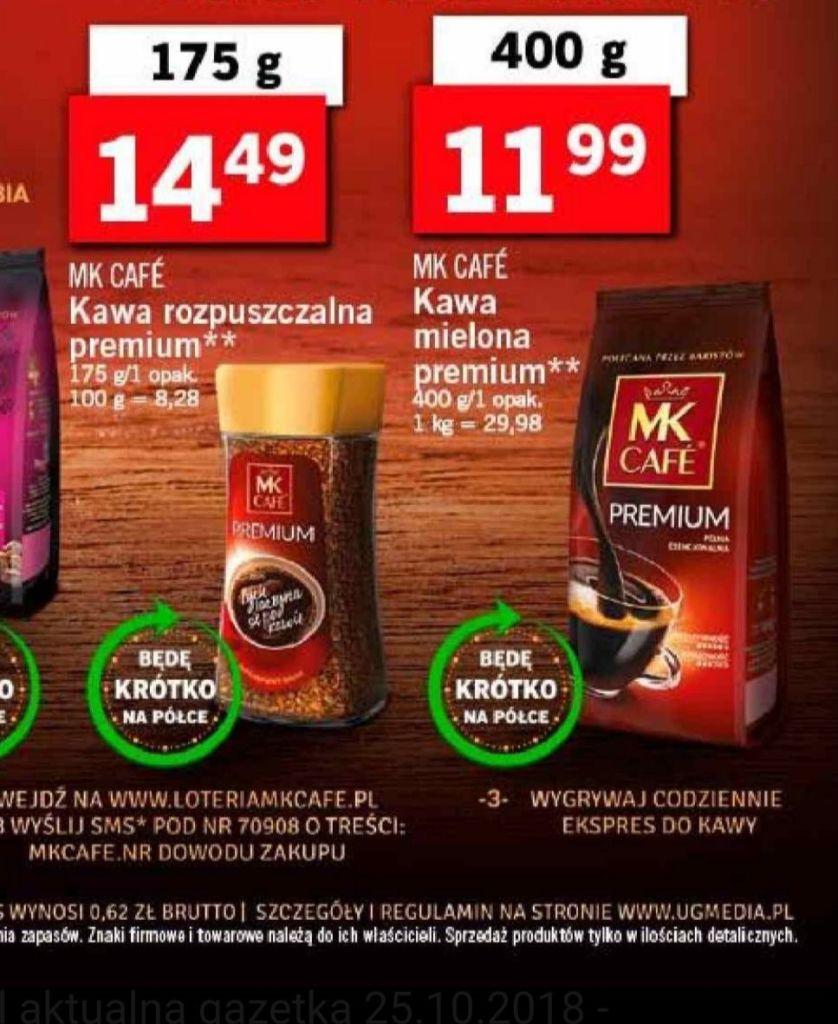 MK CAFE PREMIUM Kawa rozpuszczalna  175g ( Błąd cenowy!) +  Błąd cenowy Reszty kaw MK Cafe