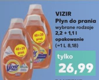 Vizir - płyn do prania - 3,3l - 0,44gr za pranie