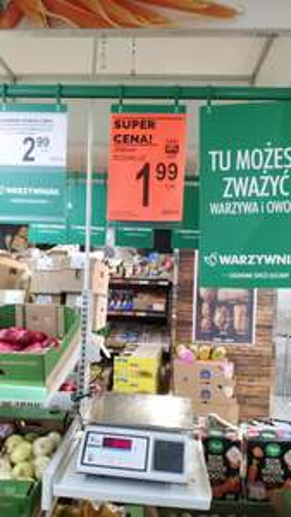 Młode ziemniaki w Biedronce za 1.99z/kg Katowice koło Spiża