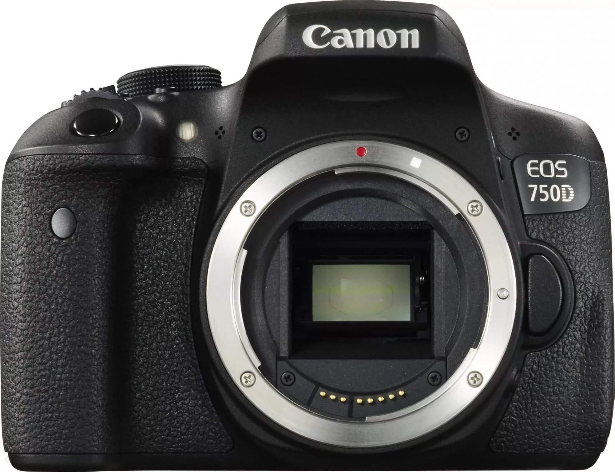 Canon EOS 750D body w dobrej cenie
