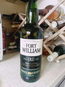 Whisky Fort William 1 l za 39.99 w Lidlu.