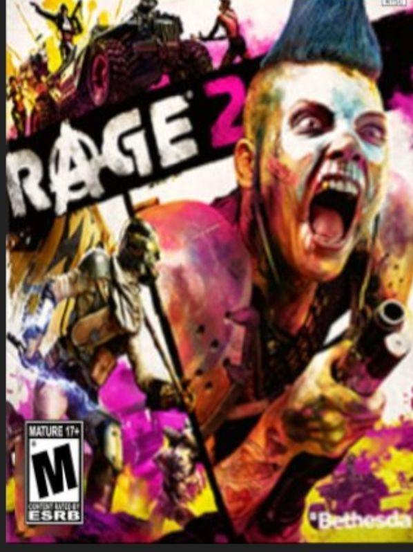 Rage 2 bethesda PROMOCJA