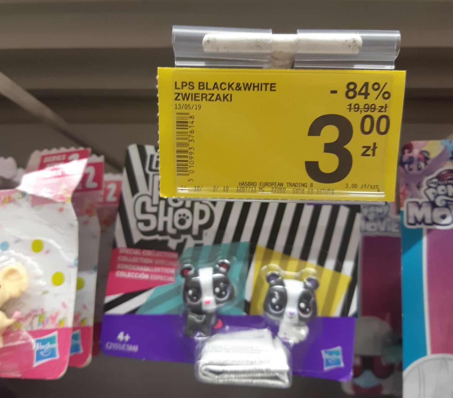 Little Pet Shop Black&White Zwierzaki - Carrefour