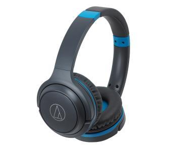 Słuchawki Bluetooth Audio-Technica ATH-S200BT blue + voucher Tidal-a na 90dni, a czarne i białe po 219 zł oraz inne modele ze zniżką