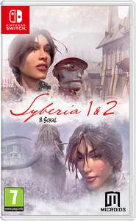 Gry Syberia 1 & 2 Nintendo Switch (Polska lub...)