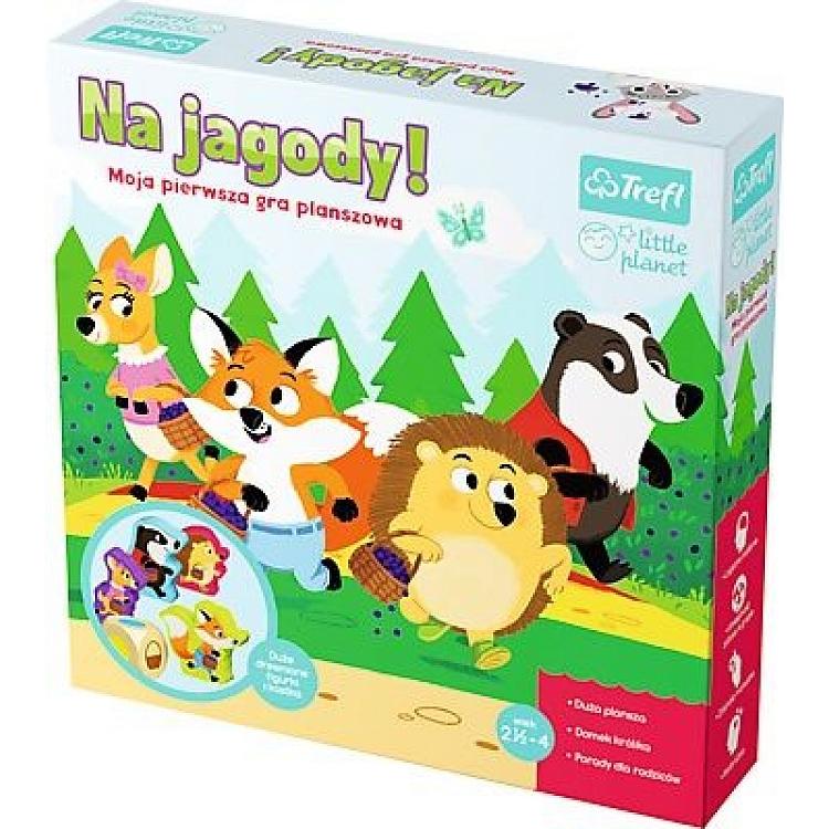 Trefl - Na jagody, moja pierwsza gra - dostawa 0 / 6,90