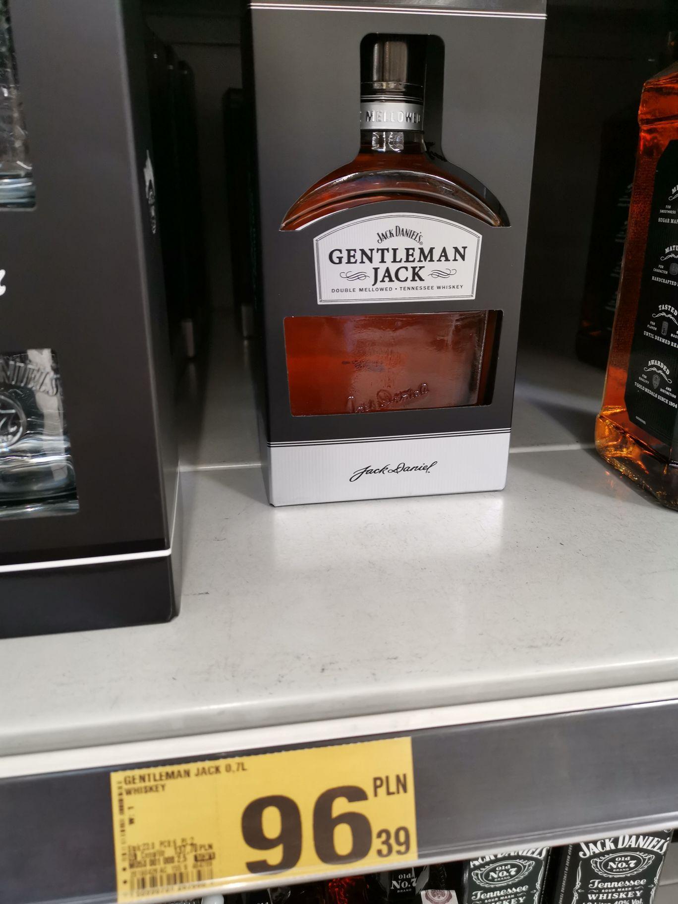 Gentleman Jack  whiskey0.7 Auchan