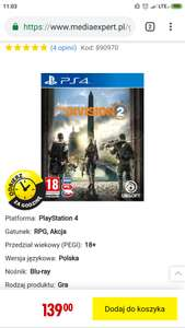 The Division 2 PS4/Xbox One