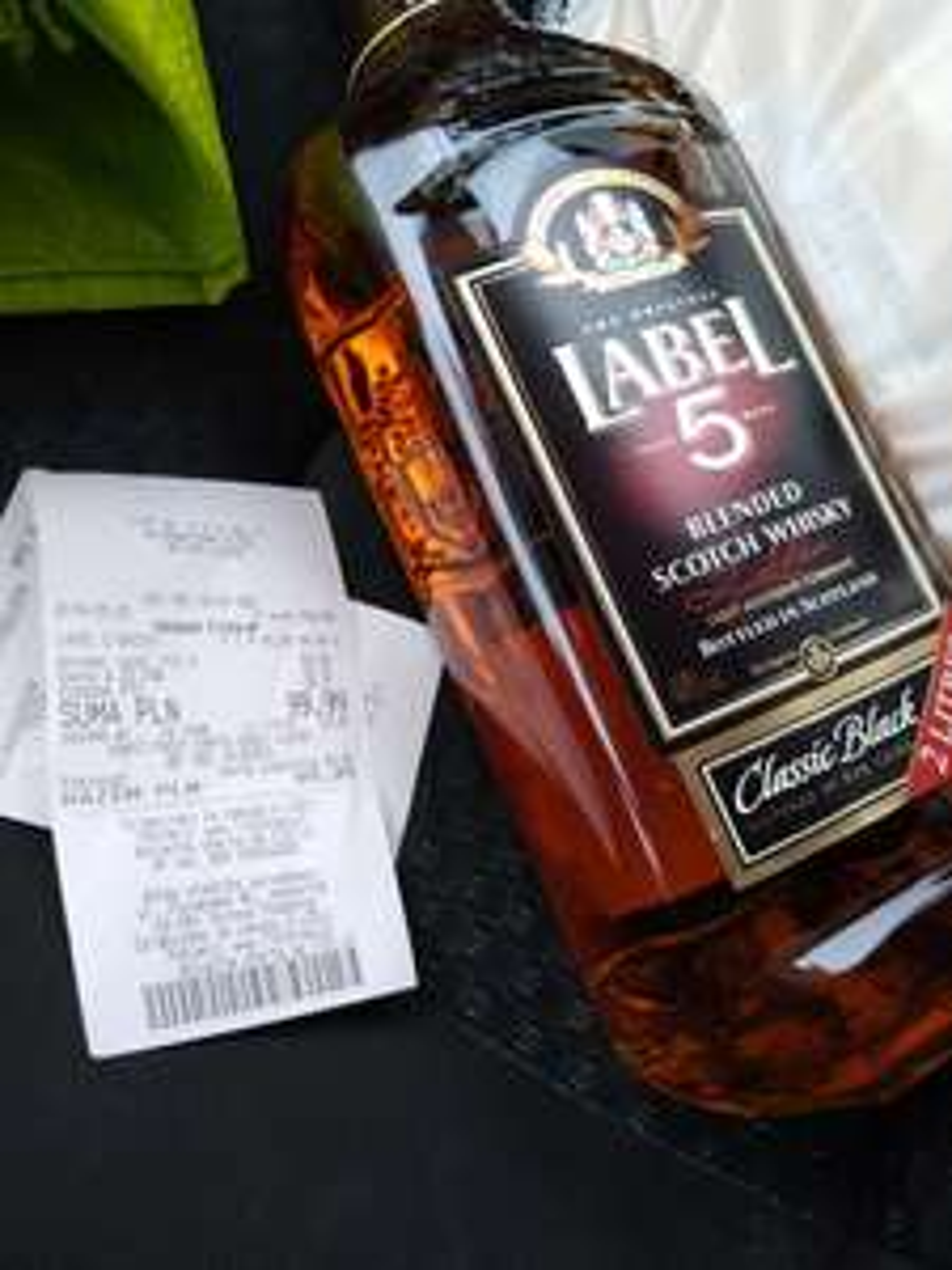Whiskey label 5 2l @ Lidl Kutno