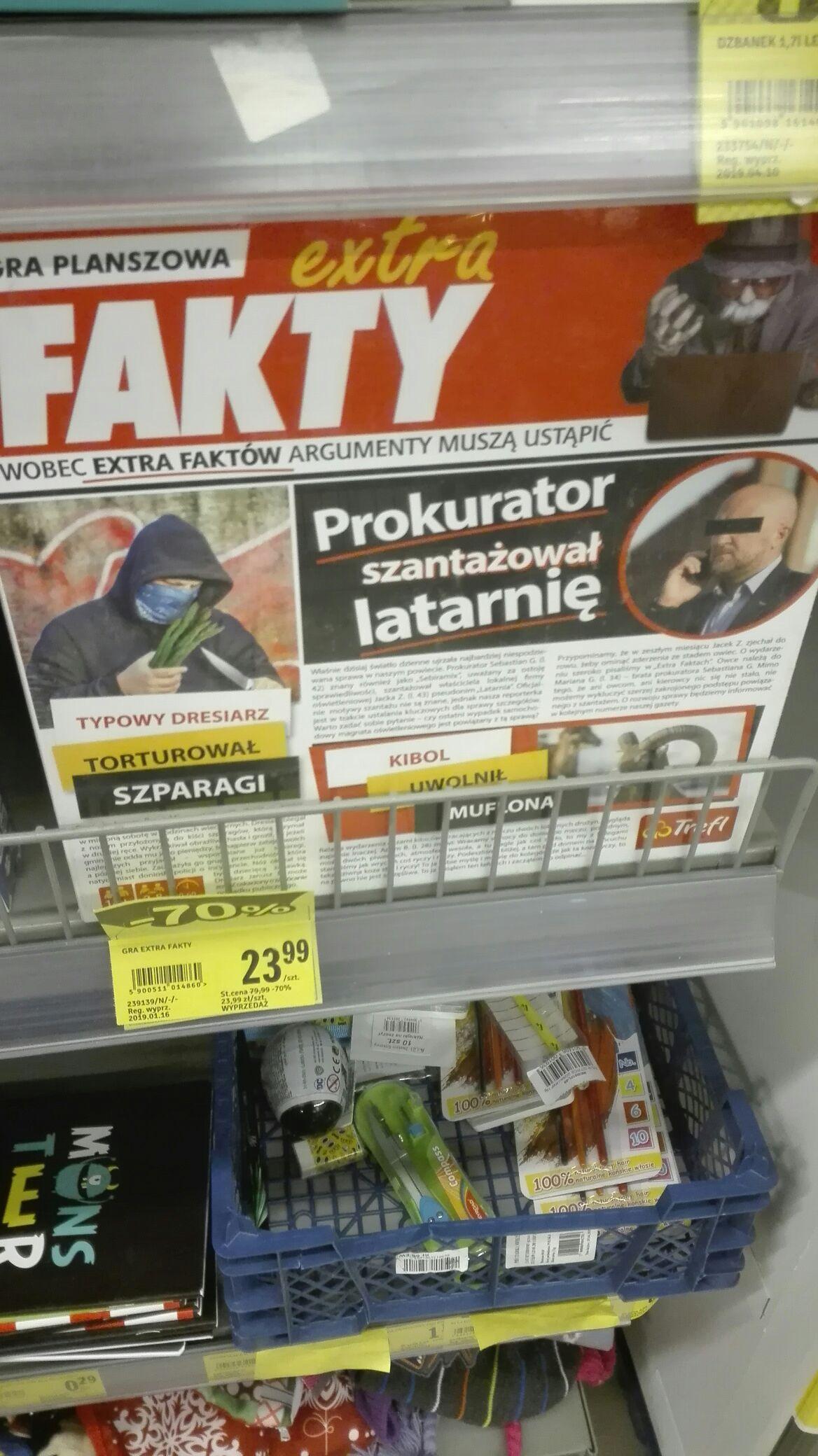 Gra Planszowa Extra Fakty Stokrotka