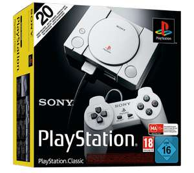 Konsola Sony PlayStation Classic za 134 PLN