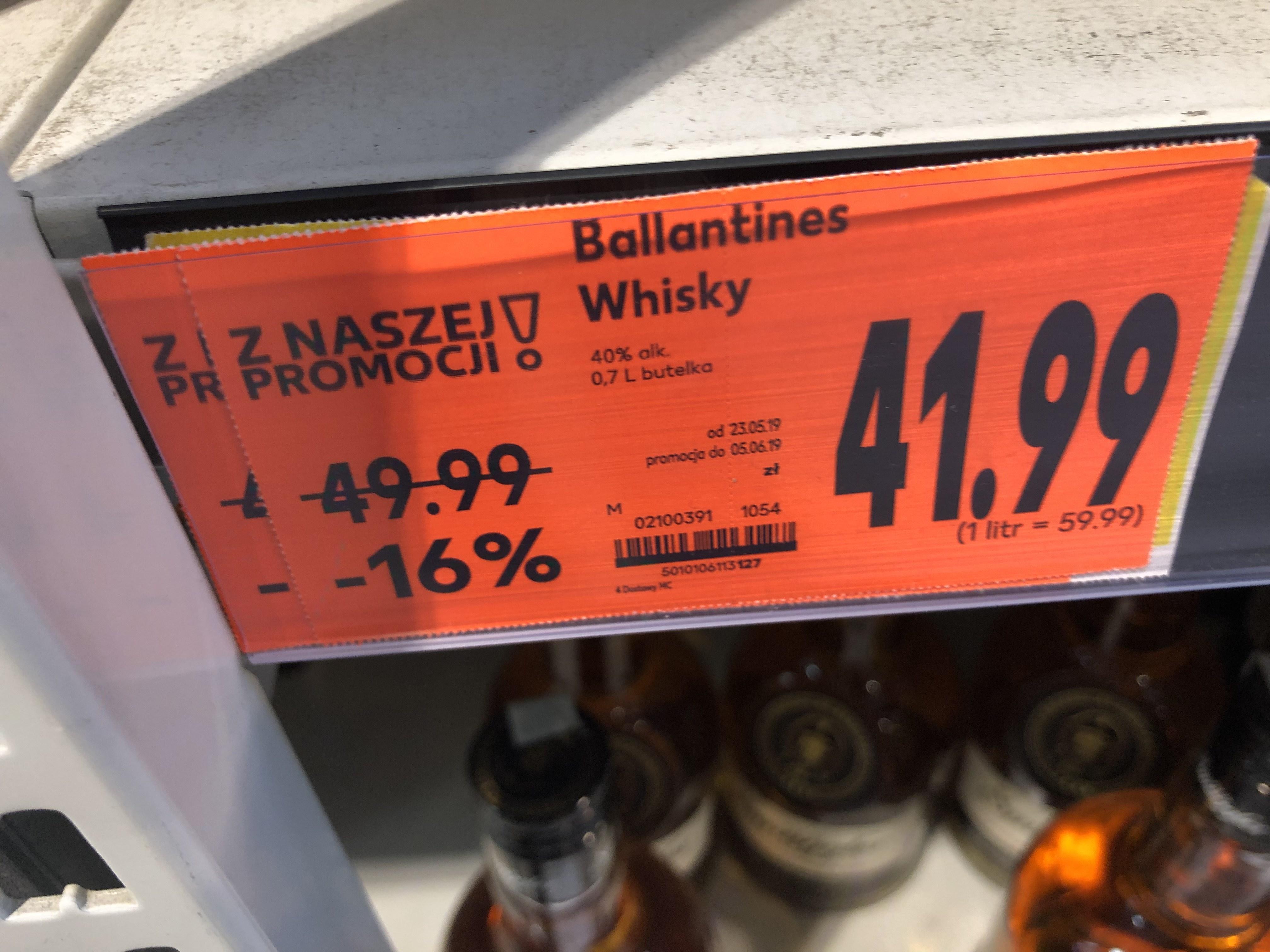 Ballantines 0,7 Kaufland Whisky