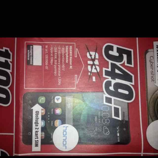 Huawei Honor 4c za 549 @MediaMarkt