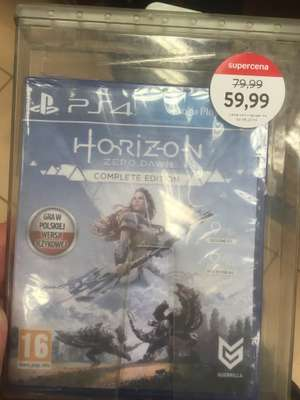 Horizon zero down complete edition PS4 Empik