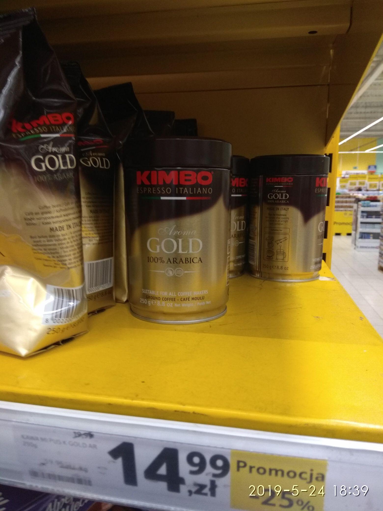 Kawa KIMBO wszystkie rodzaje i opakowania