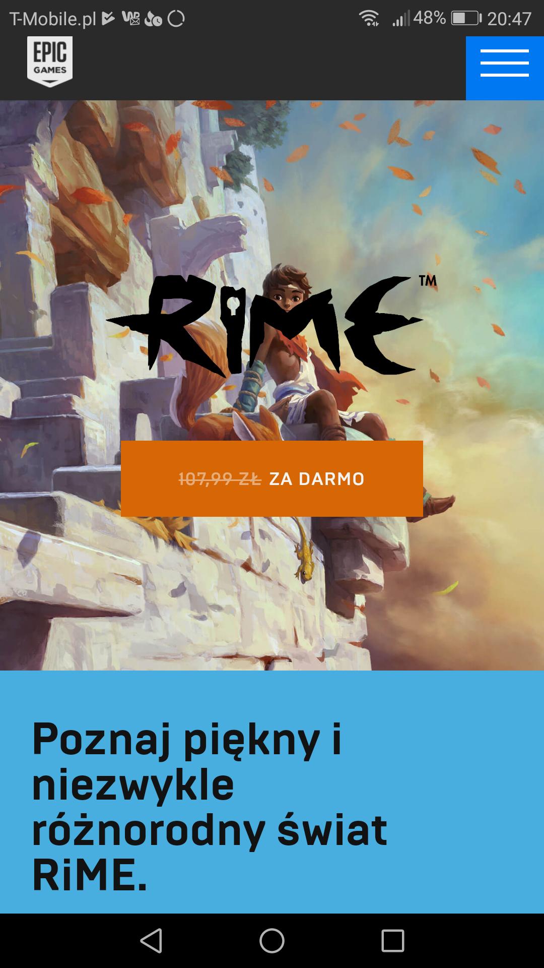 RIME Gra za darmo na Epic Games