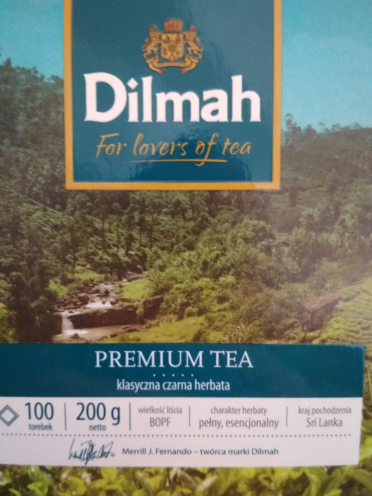 Herbata Dilmah Premium. 100 torebek. Błąd cenowy?