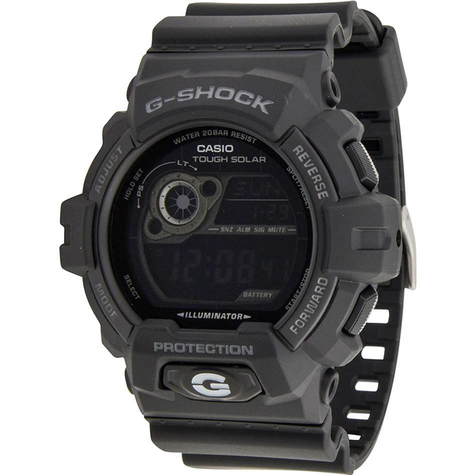Zegarek Casio G-Shock World Time Black Solar Powered Watch GR-8900A-1ER