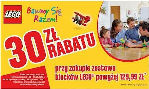 Lego Auchan rabat 30 zl