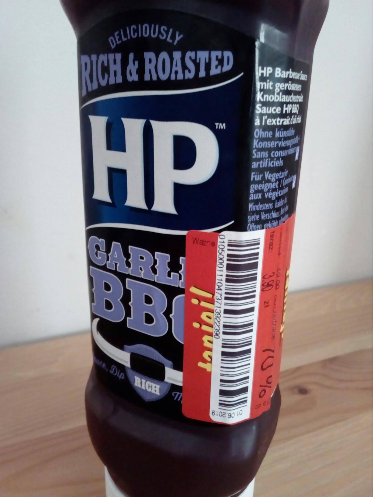 Sos HP BBQ Garlic - Kaufland [Zduńska Wola]
