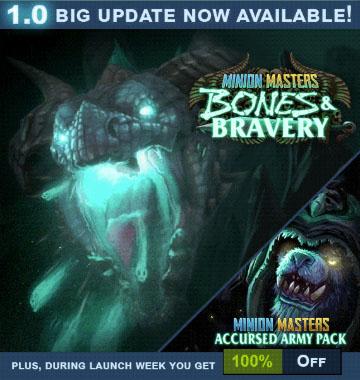 Forced Showdown, Forced: Slightly Better Edition lub Minion Masters: Voidborne Onslaught na Steama za darmo