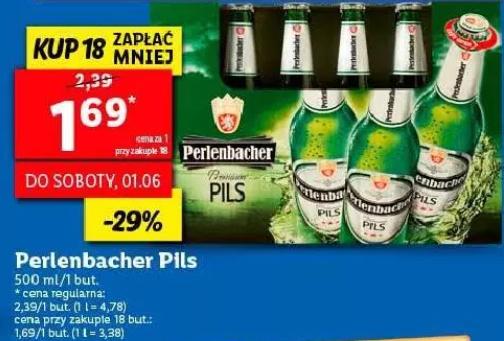 18x piwo Perlenbacher Pils (1,69 zł za 1) @ Lidl