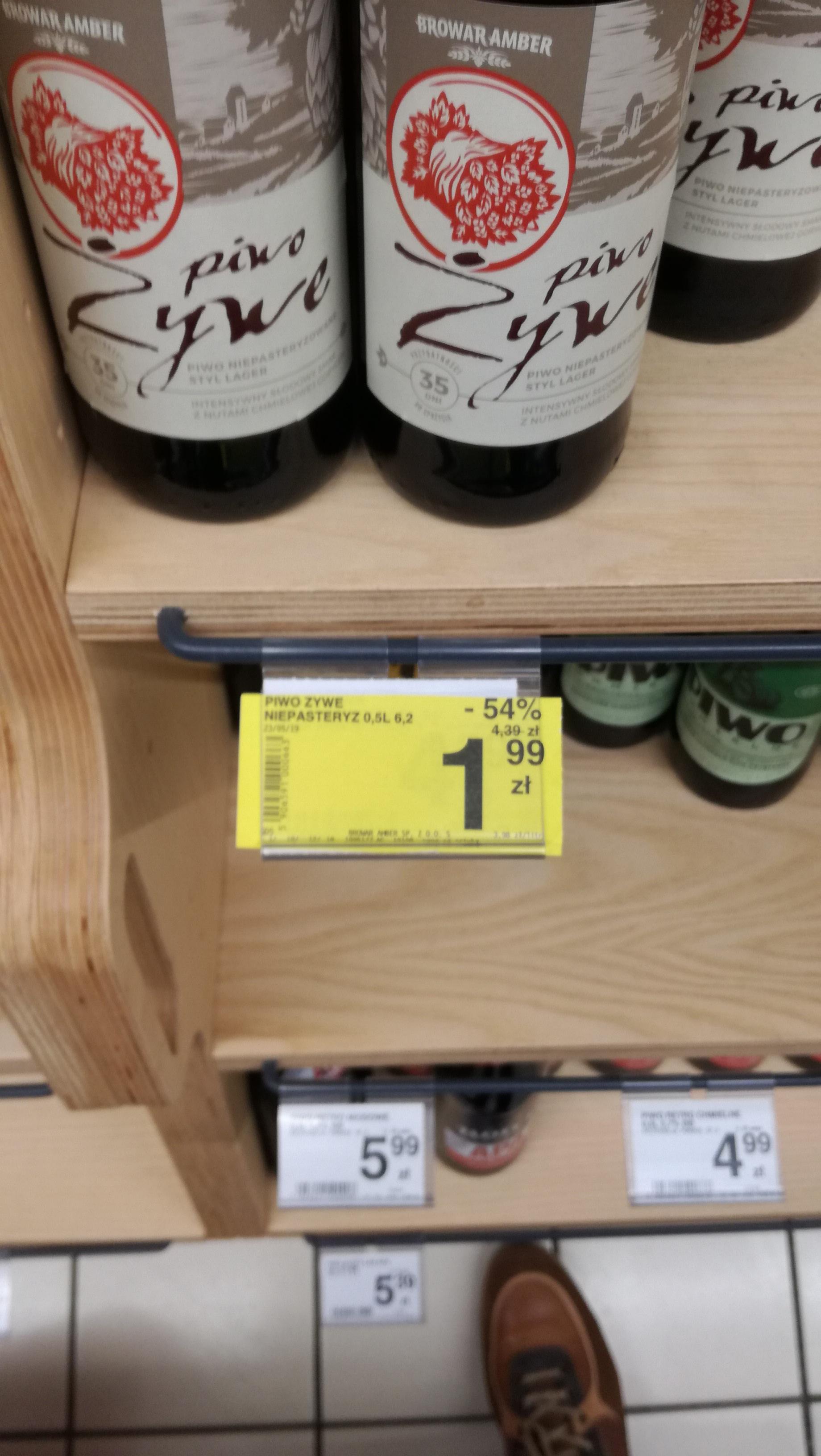 Piwo Żywe Niepasteryzowane