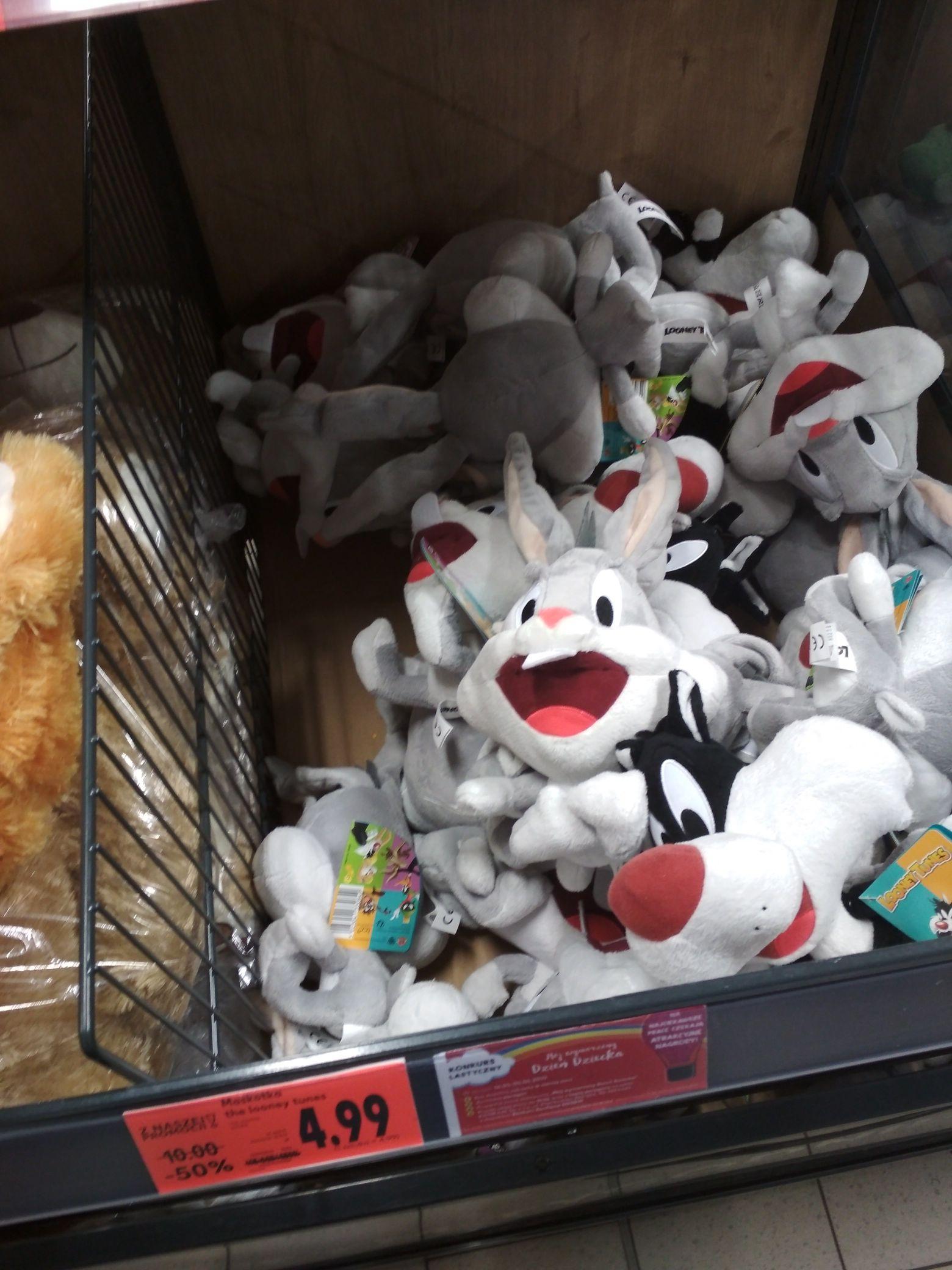 Maskotki Looney Tunes w Kaufland