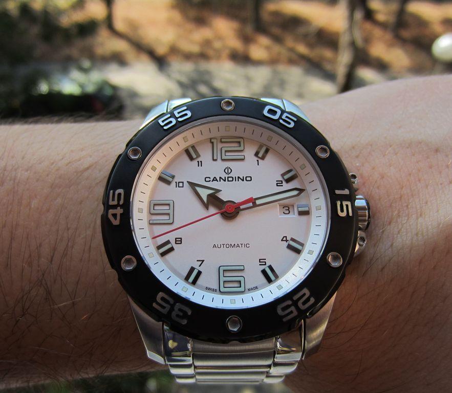 Zegarek diver Candino C4452/1 automat