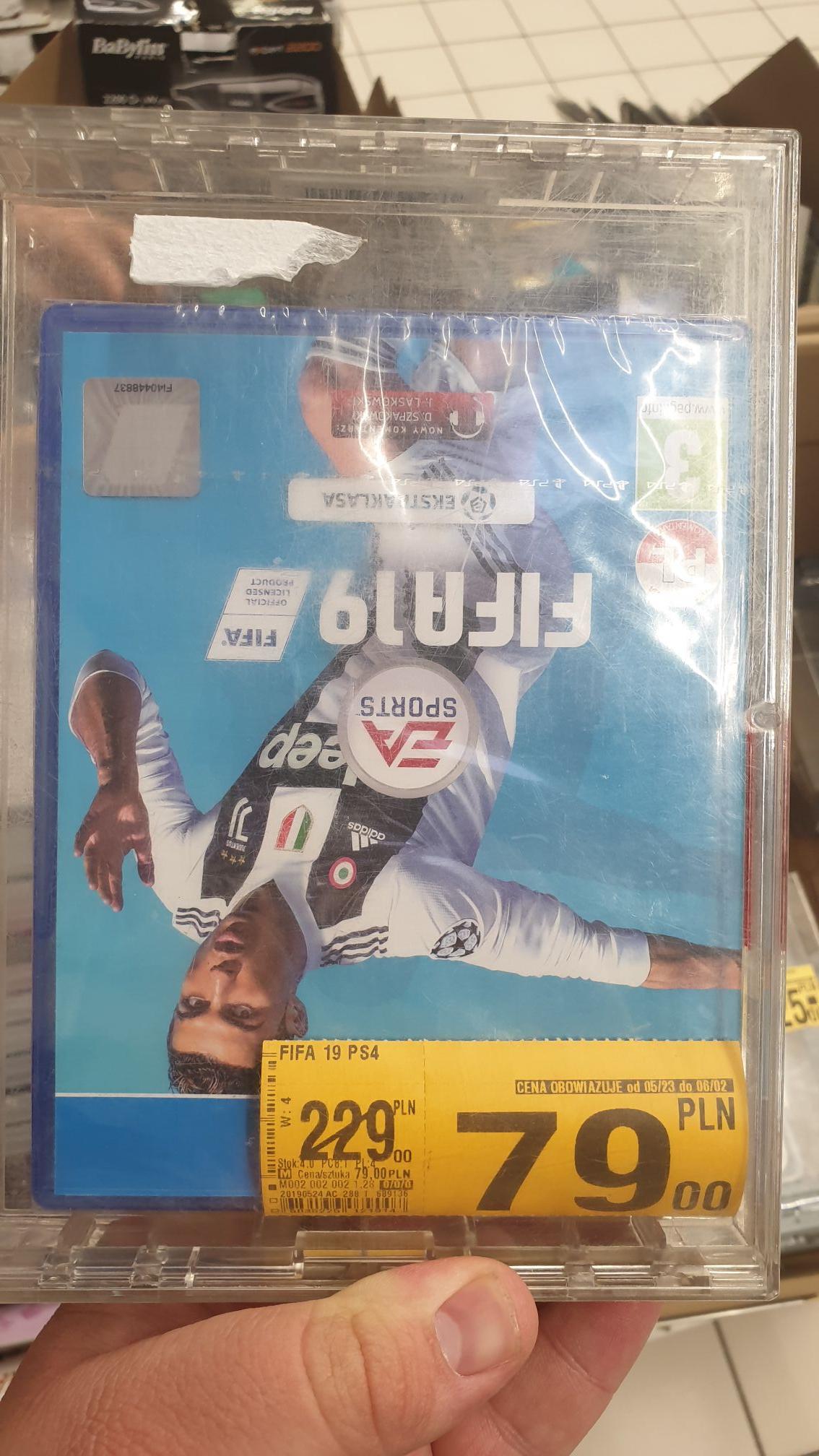 Fifa 19 / Hitman 2 / Battlefield V  - PS4 @ Auchan Katowice