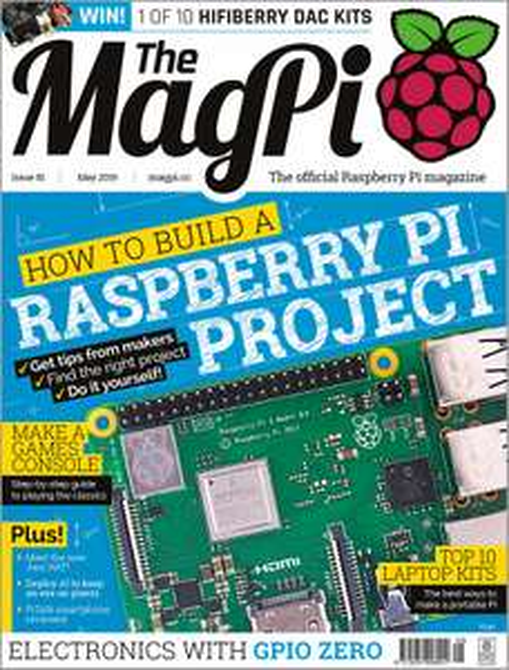 Darmowe wydania magazynu MagPi w PDF