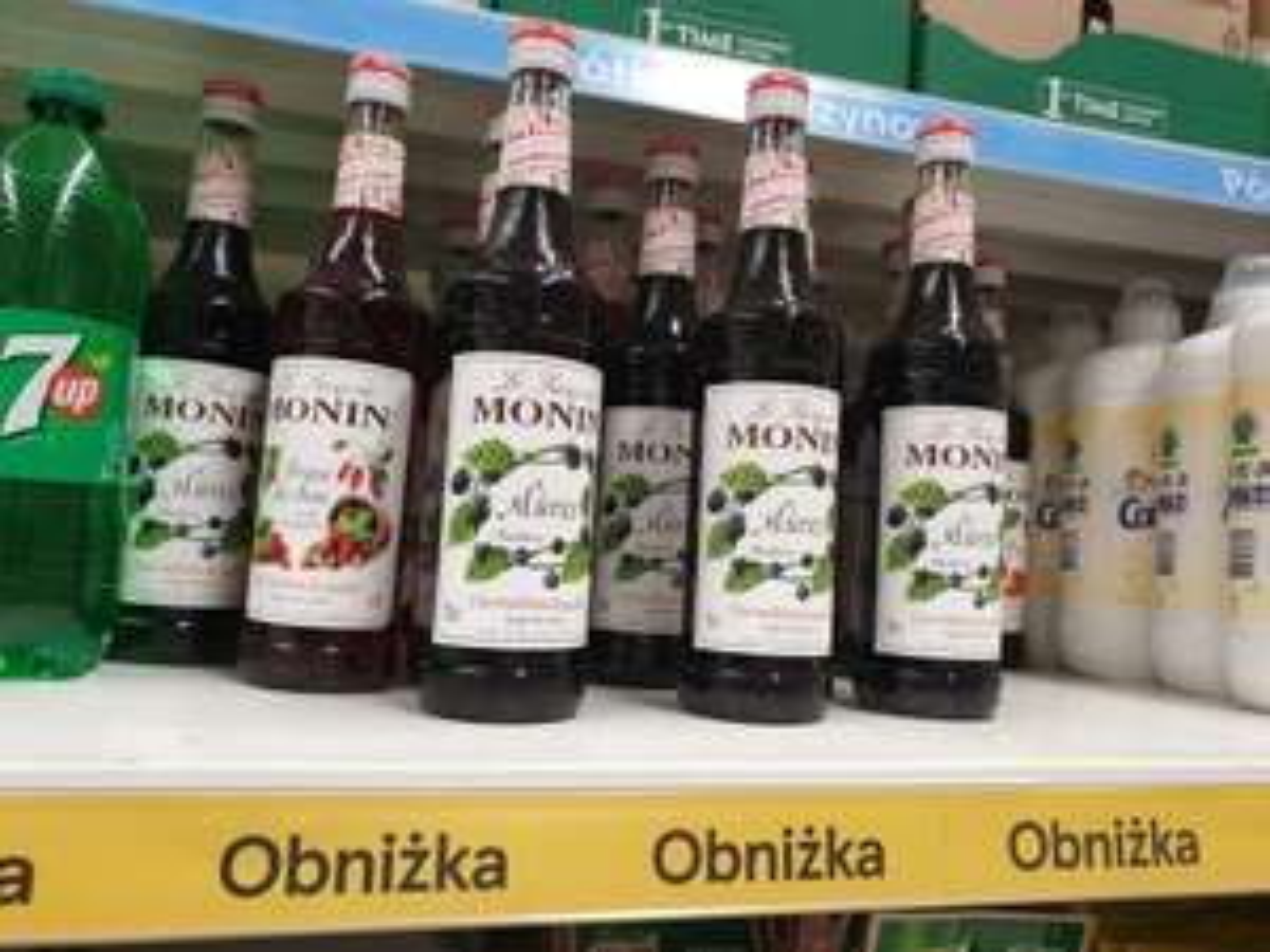 Syropy Monin Tesco Kapelanka Kraków