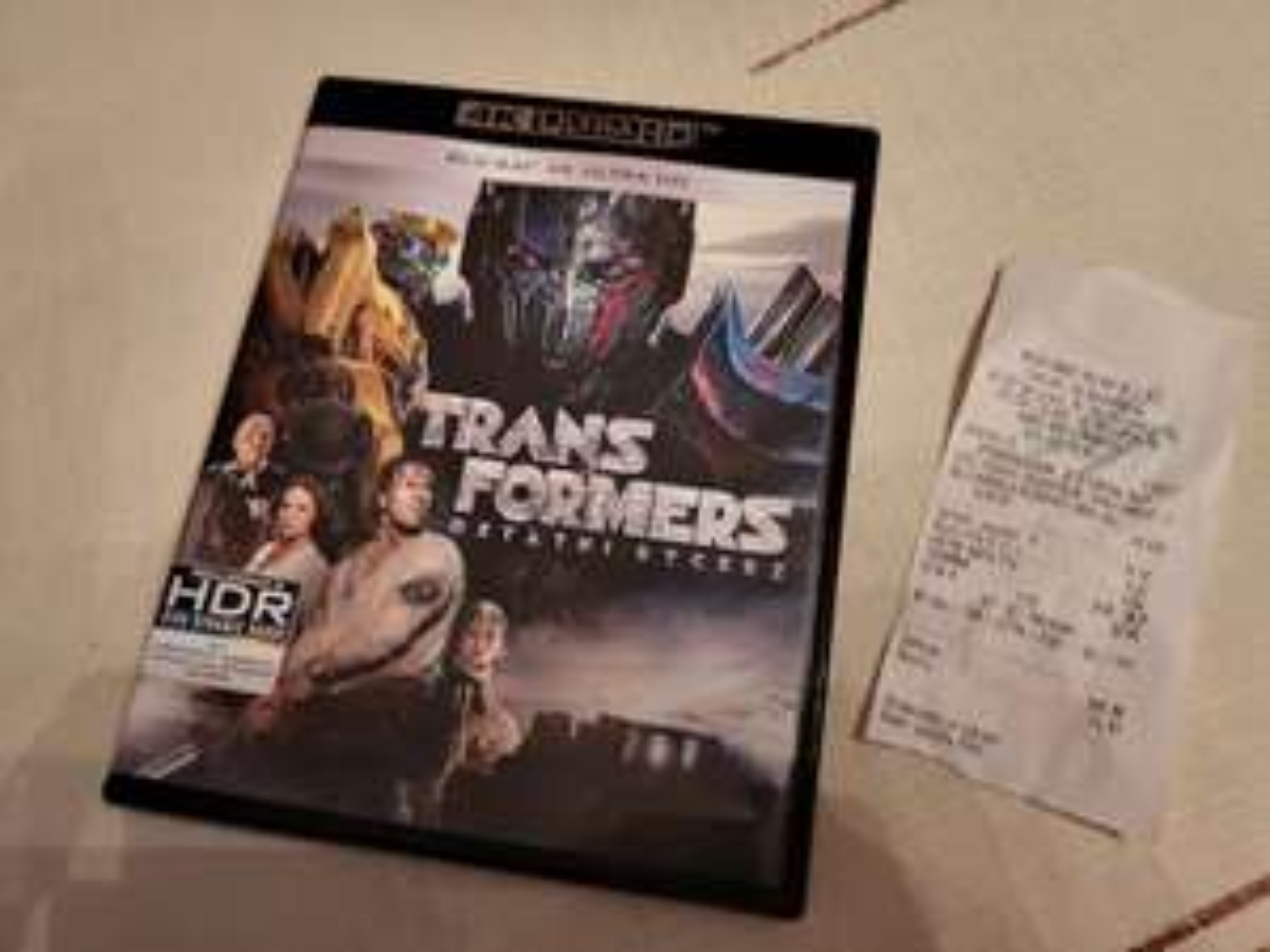 Transformers: Ostani Rycerz 4K Bluray HDR MM Czeladź M1