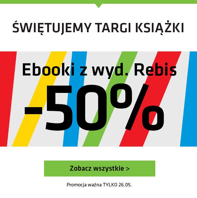 Ebooki z wyd. Rebis -50%