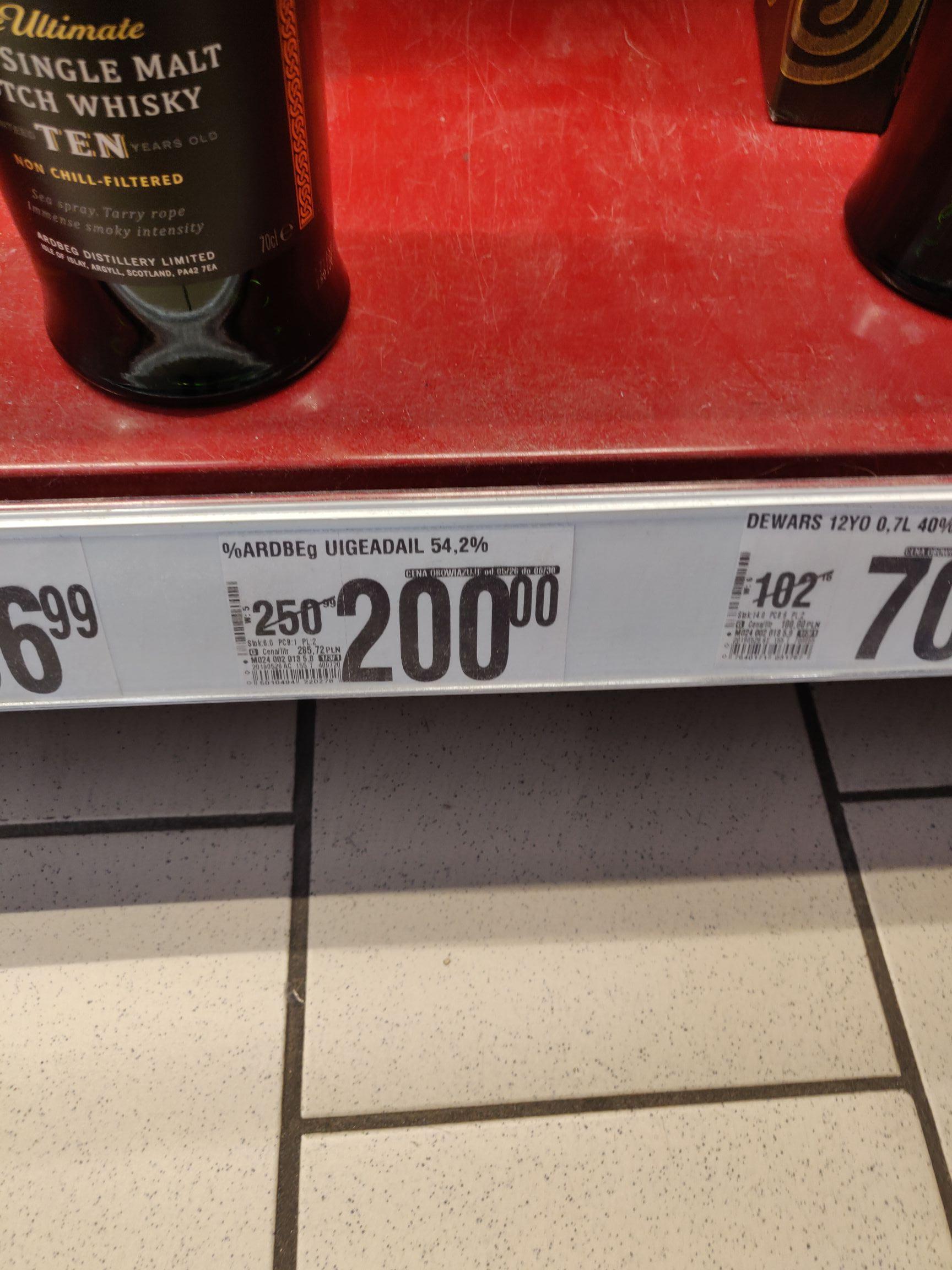 Whisky Ardbeg Uigedail 54,2% Single Malt