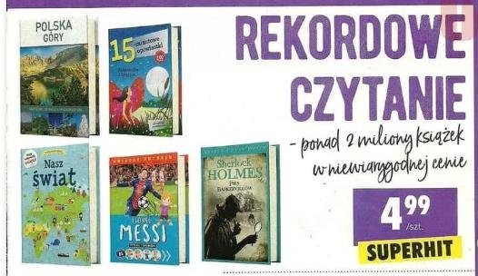 Rekordowe czytanie w Biedronce