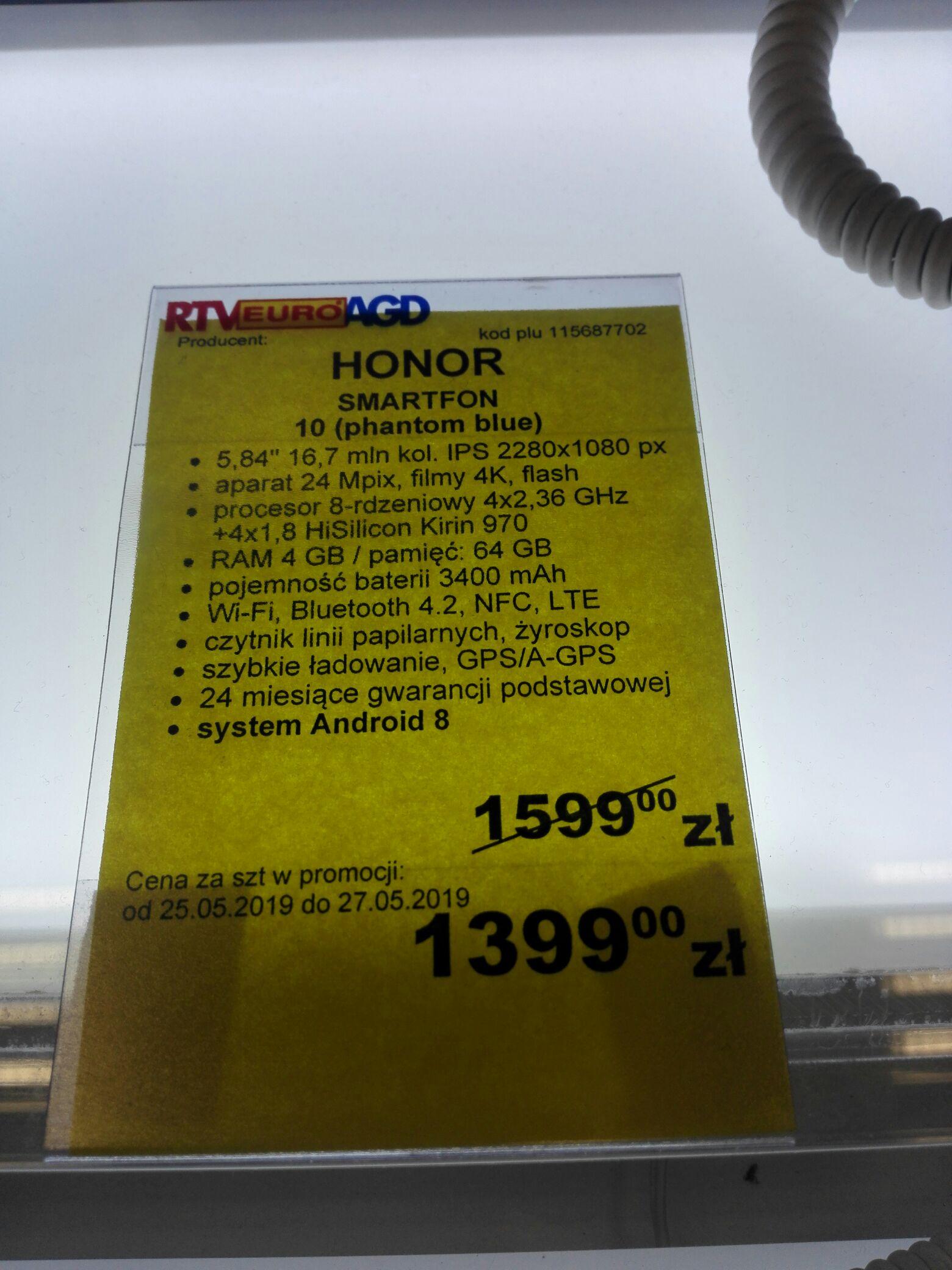 Honor 10 - Euro RTV