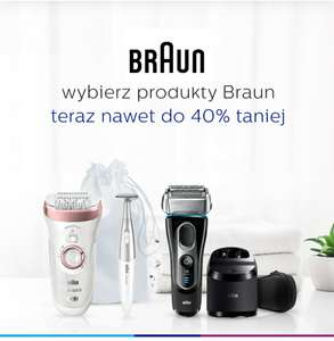 Braun cashback + wyprzedaż [Aktualizacja 03.07]