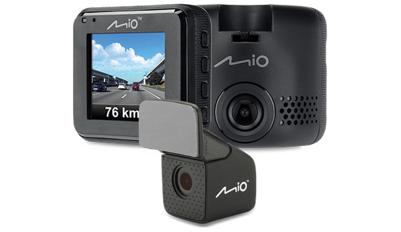 MIO Mivue C380 Przod+Tył Kamera Wideorejestrator