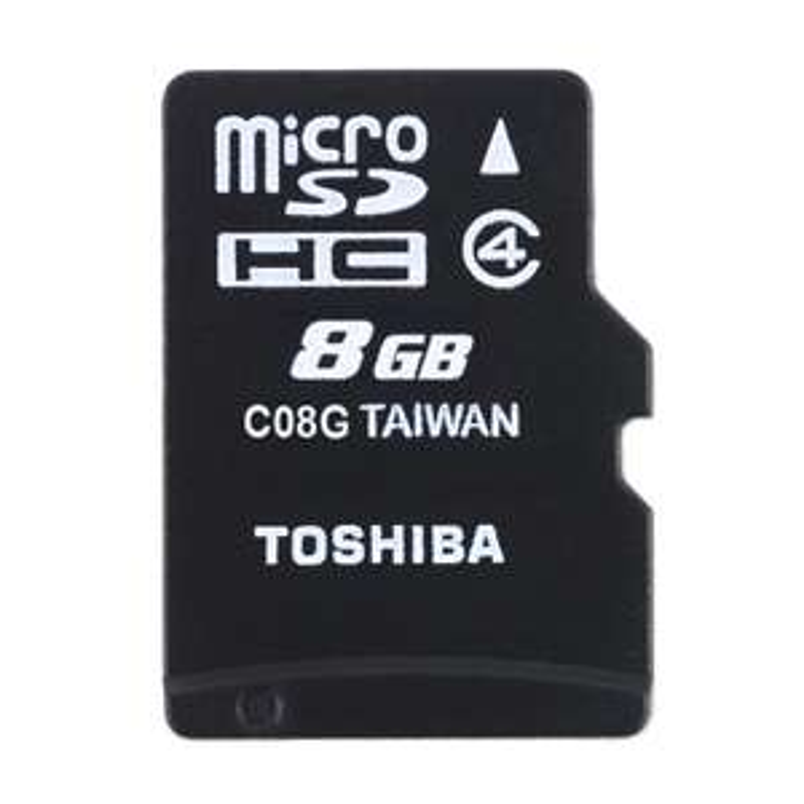 Toshiba 8GB microSDHC + adapter SD @ x-kom