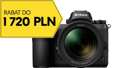 Wyśmienita promocja na sprzęt Nikona - aparaty i obiektywy