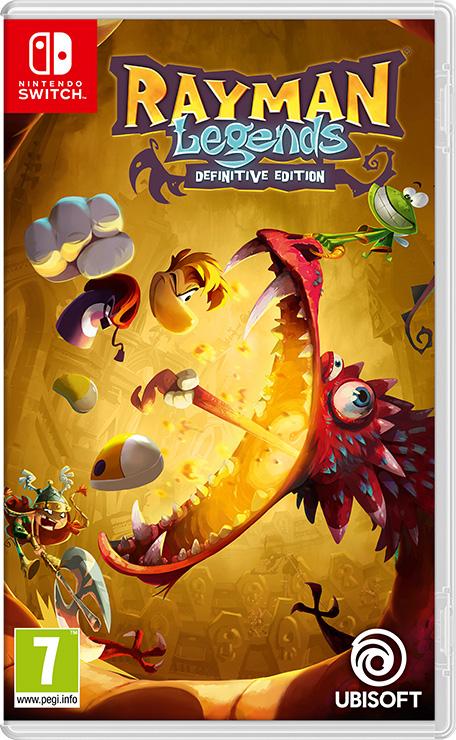 Gra Rayman Legends Definitive Edition Nintendo Switch (Polska lub...)