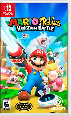 Gra Mario + Rabbids Kingdom Battle Nintendo Switch (Polska lub...)